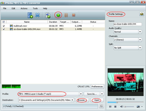 How to convert MOV to MP3