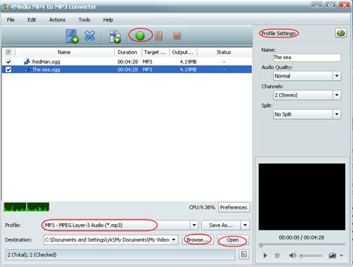 How to convert OGG to MP3
