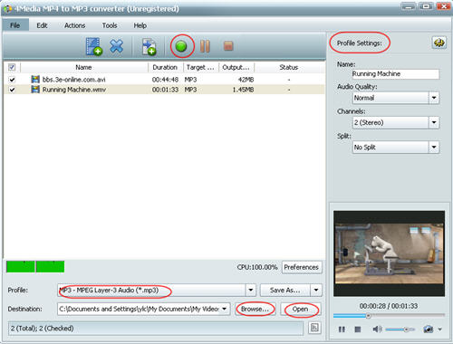 How to convert WMV to MP3